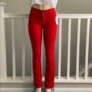 Lauren Ralph Lauren Red Jeans size 4/27 L 32